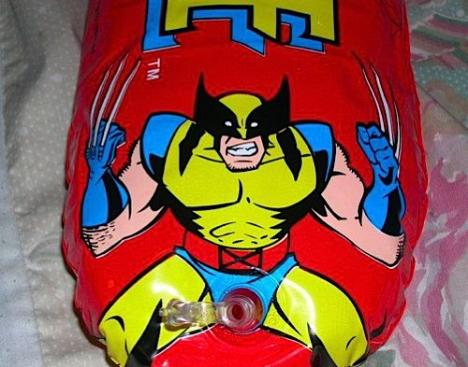Uppblåsbar Wolverine leksak? FAIL!