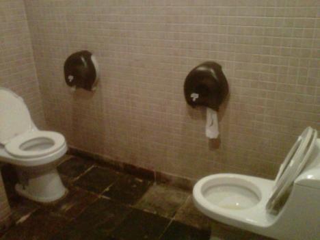 Social toalett