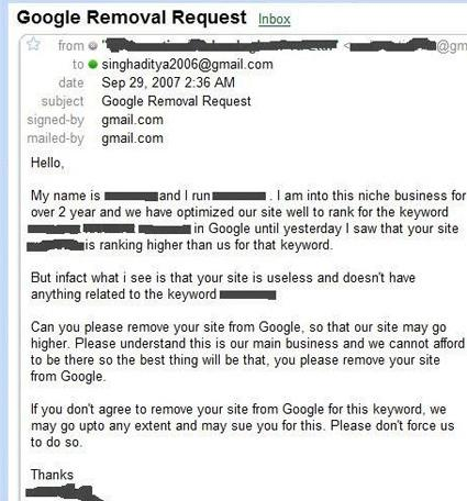 SEO-optimering via email