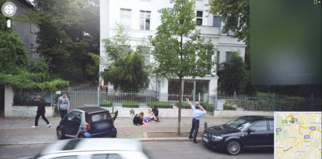Barn föds på Googles gatuvy