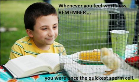 När du känner dig värdelös, kom då ihåg...