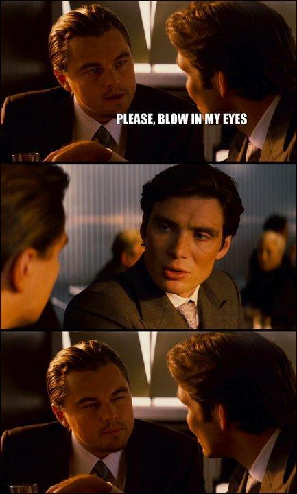 Leonardo DiCaprio vill bli blåst i ögonen
