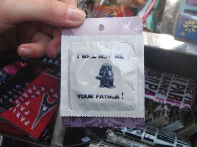 Star Wars-inspirerade kondomer