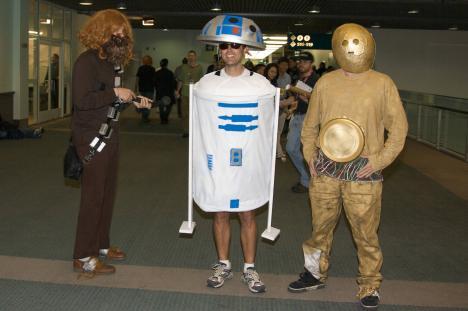 Sköna Starwars-kostymer