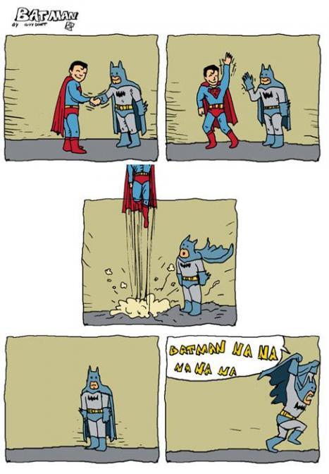 Skillnaden mellan Batman och Superman