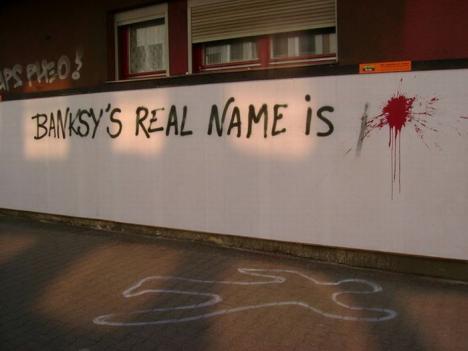 Banksys riktiga namn