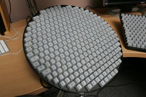 Ett japanskt tangentbord
