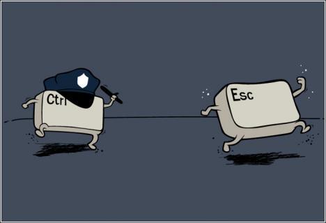 Ctrl + Esc