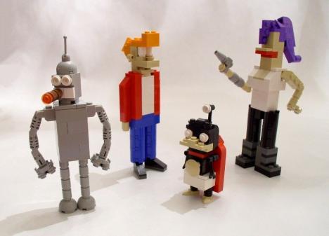 Futurama i Lego