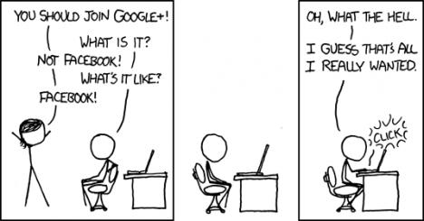 Google+ är som Facebook, men det är inte facebook