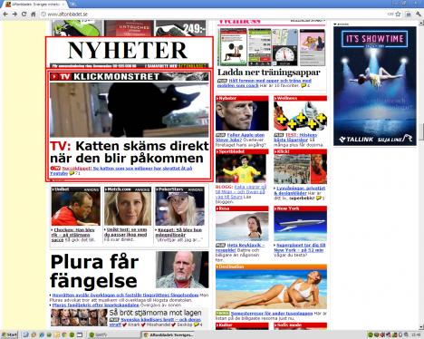 Aftonbladet - Bara viktiga nyheter.
