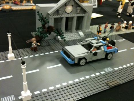 Tillbaka till framtiden i LEGO