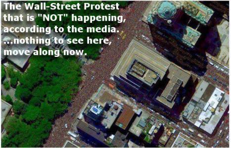Vilken Wall Street-protest..?
