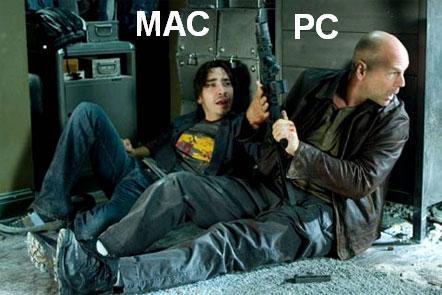 I'm a Mac.. and I'm a PC