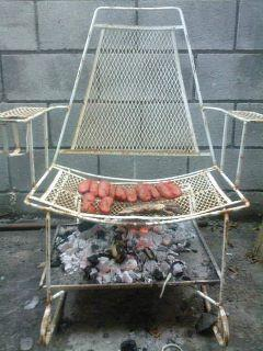 Improviserad grill
