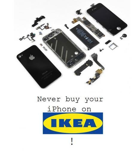 IKEA börjar sin försäljning av iphone 4s !!