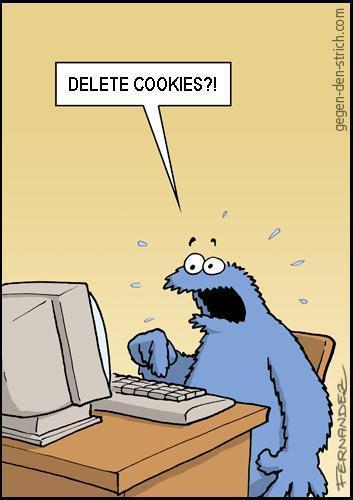 Radera cookies?!