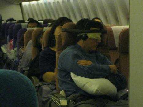 Viktigt att vara fastspänd på flyget
