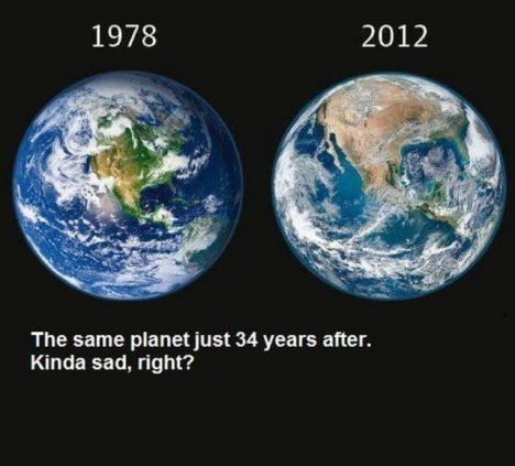 Jorden 34 år senare