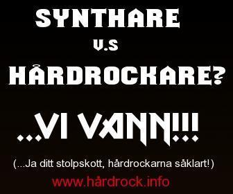 Synthare vs. Hårdrockare!