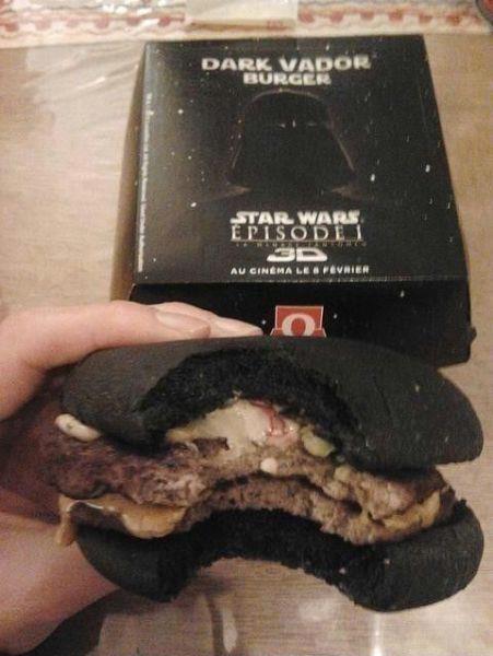 Dart Vader burgare på MacDonalds =)