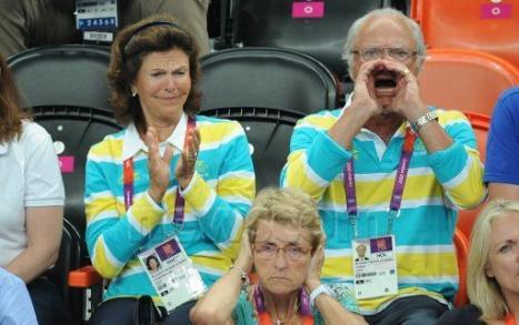 Kungaparet på OS