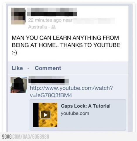 Lärorikt att kolla youtube