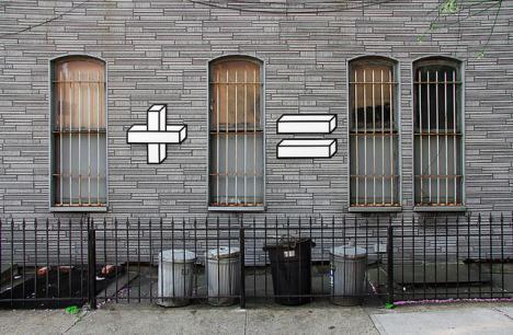 Matematisk street art