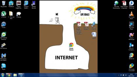 Den hårde sanningen om internet ...