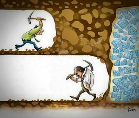 Ge aldrig upp