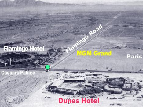 Las Vegas 1954, världens snabbast växande stad?