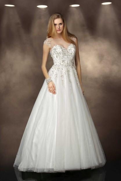 Elegant brud brudklänning Svensk nätet