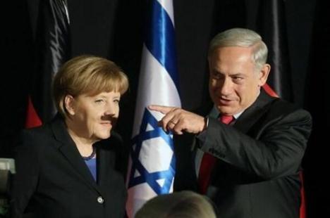 Peka aldrig finger åt en från Israel ...