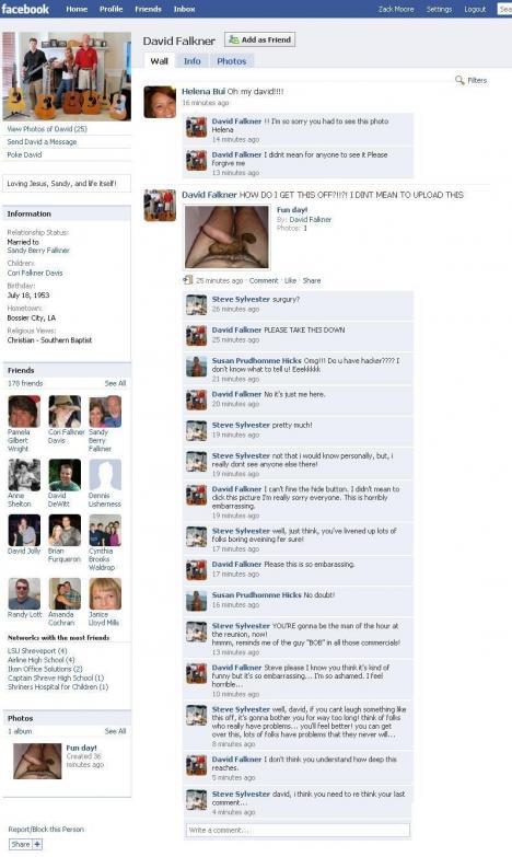 Pinsamt på Facebook (NSFW)