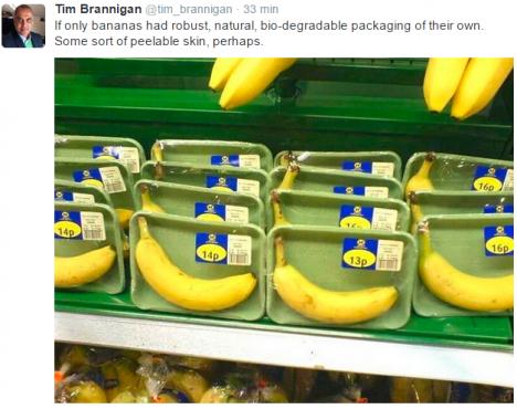 Om ändå bananen hade