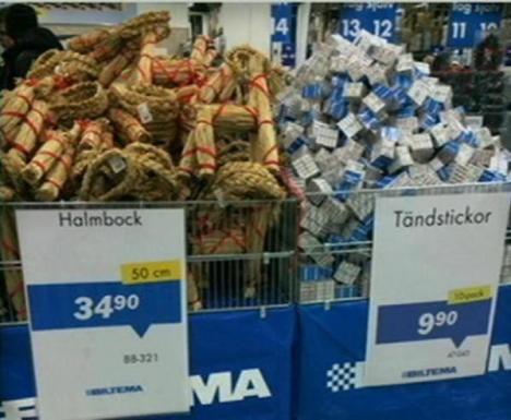 Försäljningssuccé i Gävle