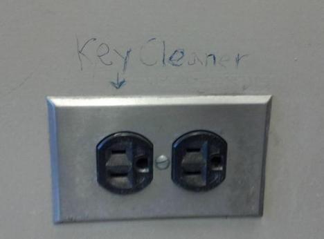 Nyckelrengörare