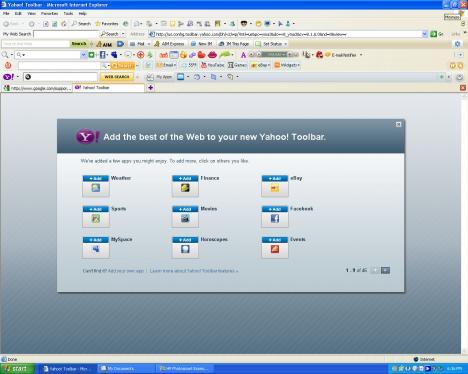 Mardrömsexempel på Internet Explorer 6