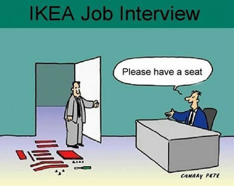 Anställningsintervju hos IKEA