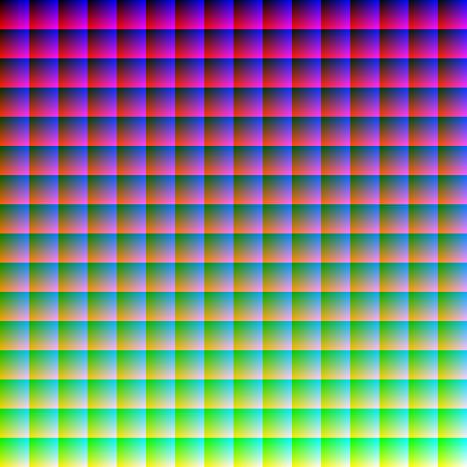 16 miljoner färger
