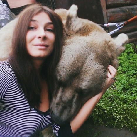 Min selfie med en björn