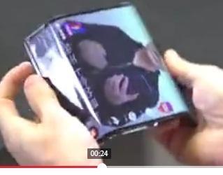 Xiaomi vikbar mobil med skärm vikta