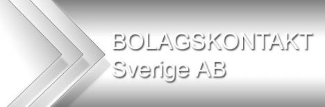 Bolagskontakt Sverige AB DIN BOLAGSKONTAKT