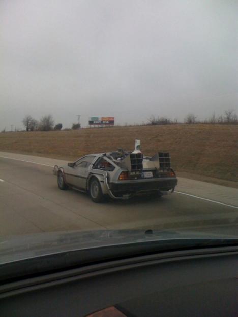 Tillbaka till framtiden-bilen i verkligheten