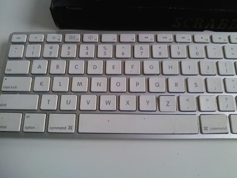 Ser du något konstigt med det här tangentbordet?