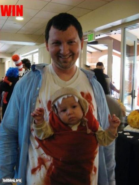 Grym halloweenkostym för dig som har barn