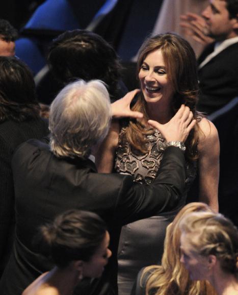 James Cameron gratulerar sin ex-fru