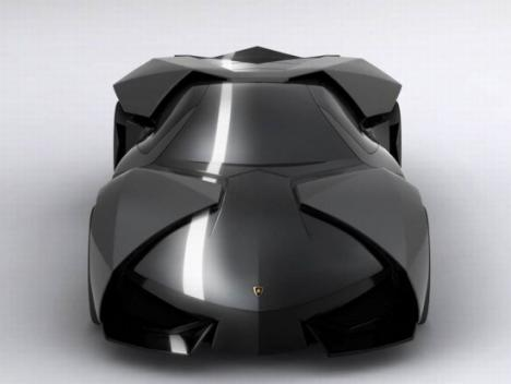 Om Batman körde Lamborghini