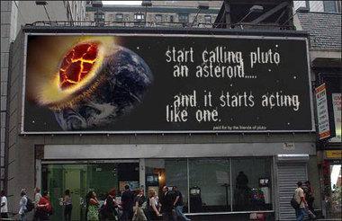 Kanske inte borde ha dissat Pluto?