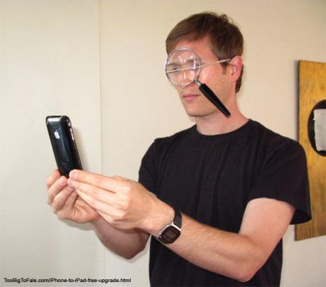 Så här uppgraderar du din iPhone till en iPad!